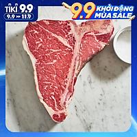 [Chỉ bán HCM] - Sườn Bò Mỹ chữ T- US Beef T-Bone - 500gram