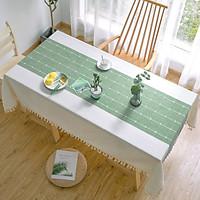 Khăn trải bàn KBCC06 MARYTEXCO chất liệu cotton thêu, đường may tinh xảo, viền tua rua sang trọng phù hợp với những không gian cao cấp, đem lại nét đẹp tinh tế cho căn phòng