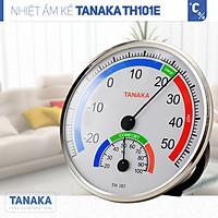 Nhiệt ẩm kế cơ học TANAKA TH101E Chính hãng nhật,nhiệt ẩm kế cơ theo công nghệ nhật bản,đồng hồ đo ẩm kế chính xác,nhiệt ẩm kế phòng,nhiệt ẩm kế sử dụng cho trẻ sơ sinh,nhiệt ẩm kế treo tường