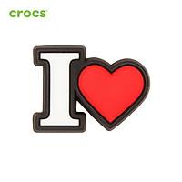 Huy hiệu (Jibbitz) Crocs I Heart 10007134 - 1 cái