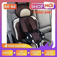 Đai đỡ em bé trên ghế ô tô dạng tựa ghế ngồi địu ô tô HD-01 chất liệu cao cấp vô cùng chắc chắn, đảm bảo an toàn tuyệt đ