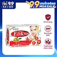 Viên Uống Bổ Sung Vitamin E EDK500 - Giúp Tăng Cường Chống Oxy Hóa, Trẻ Hóa Và Làm Đẹp Da