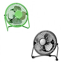 Combo 2 Quạt USB Mini Fan Lồng Sắt 4 inches