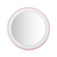 Cosmetic Mirror Illuminating Mirror Lovely Pink 12 LED Home Decor Interior Design