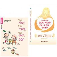 Combo 2 Cuốn Sách Làm Cha Mẹ: Cách Khen, Cách Mắng, Cách Phạt Con + Cách Nuôi Dạy Những Đứa Trẻ Dễ Cáu Giận, Khó Bảo (tặng kèm bookmark thiết kế)