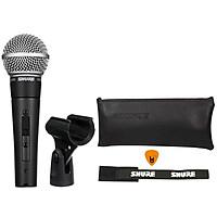 Mic Cầm Tay Shure SM58-S Có Công Tắc Hàng Chính Hãng USA Micro Phòng Thu Studio Microphone Karaoke - Kèm Móng Gẩy DreamMaker