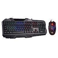 Bộ bàn phím và chuột gaming Bloody - A4Tech B150N - Q80 Neon Maze X-Glide 3200 CPI - Hàng Chính Hãng