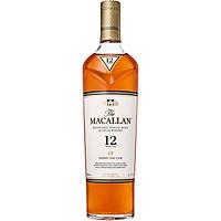 Rượu whisky The Macallan Sherry Oak 12 Years Old 700ml 40% có hộp kèm theo