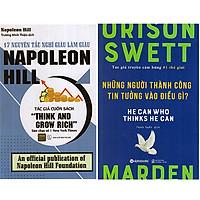 Combo 2 Cuốn Sách 17 Nguyên Tắc Nghĩ Giàu Làm Giàu Napoleon Hill + Người Thành Công Tin Tưởng Vào Điều Gì