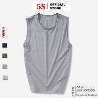 Áo Sát Nách Nam 5S (4 Màu), Chất liệu Premium Cotton Siêu Thấm Hút, Thoáng Mát, Vận Động Thoải Mái (ATT21023)