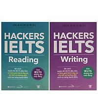 Combo 2 Cuốn Sách Luyện Thi IELTS: Hackers IELTS Reading + Hackers IELTS Writing - Tái Bản Năm 2021 (Tặng Kèm Portcard ta)