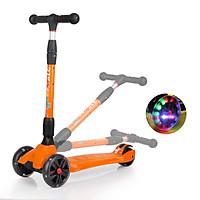 Xe trượt scooter 3 bánh chính hãng 21st scooter SPINE có đèn LED, gấp gọn thiết kế của Thụy Sĩ có nhiều màu sắc cho bé từ 3-14 tuổi