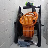 Bộ súng phun tưới rửa 8 kiểu chuyên nghiệp phun mạnh ko cần máy bơm ống 12mm có gá ống Aquamate Đài Loan nhập khẩu