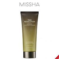 Sữa Rửa Mặt Tạo Bọt Kiêm Mặt Nạ Đất Sét Chiết Xuất Ngải Cứu Missha Time Revolution Artemisia Pack Foam Cleanser 150ml