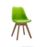 Ghế Eames có lót đệm chân gỗ TH01