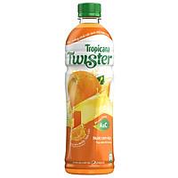 [Chỉ Giao HCM] - Big C - Nước cam ép Twister chai 455ml - 93057