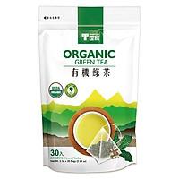 Trà xanh hữu cơ túi tam giác Tradition - 2.5g*30 gói
