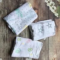 Khăn Tắm sợi tre - Set 3 khăn