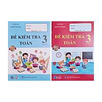 Combo Sách - Đề kiểm tra Toán 3 học kì I + II
