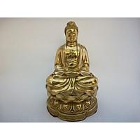 Phật A Di Đà cao 23cm bằng đồng
