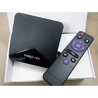 Android Tivi Box Magicsee N5 - Tivi Box Ram 2GB Rom 16Gb - Bản Single Wifi - Hàng Chính Hãng