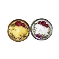 Combo 2 nến thơm tinh dầu: 1 nến thơm tinh dầu Ngọc lan tây, 1 nến thơm thơm tinh dầu Hoa Lily, giúp thư giãn, thơm phòng khử mùi, handmade