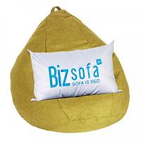 Ghế Lười Hạt Xốp BizSofa - B03 Hình Giọt Nước Size L 80x80 cm (Không kèm vỏ lót)