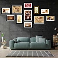 Bộ 11 tranh canvas treo tường Decor Tranh treo quán cafe - DC174