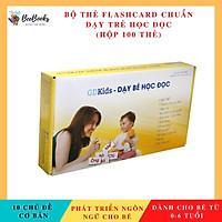 Thẻ Học Thông Minh Phát Triển Tư Duy Cho Bé- Dạy Trẻ Học Đọc Flashcard Chuẩn Theo Phương Pháp Glenn Doman (Bộ Cơ Bản 100 Thẻ)- NXB Thanh niên