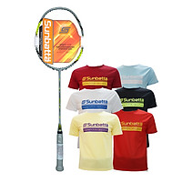 Combo Vợt cầu lông không dây Sunbatta TOUR 1200 và áo thun Sunbatta chính hãng dành cho người mới tập chơi cầu lông, phù hợp với đa số người chơi nam nữ, trẻ em và trung niên
