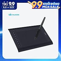 Bảng vẽ cảm ứng Huion H610 Pro V2 10x6.25 Inch với 8 nút điều chỉnh tiện dụng và 16 phím mềm