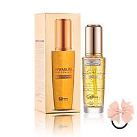 Tinh Chất Serum vàng cao cấp 24k - Benew Premium Whitening Gold Essence 50ml [ Tặng dây cột tóc nơ - màu ngẫu nhiên ]