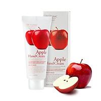 Kem dưỡng da tay chiết xuất Táo Hàn Quốc cao cấp 3W Clinic Apple Hand Cream (100ml) – Tặng 1 mặt nạ Jant Blanc