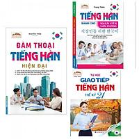 Combo Sách Học Tiếng Hàn: Đàm Thoại Tiếng Hàn Hiện Đại + Tiếng Hàn Dành Cho Nhân Viên Văn Phòng + Tự Học Giao Tiếp Tiếng Hàn Thế Kỷ 21-Tặng Bookmark PĐ