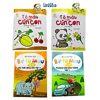 Sách Tô Màu Chi Tiết To cho Bé 2 - 6 Tuổi