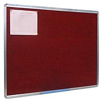 Bảng Ghim Vải Nỉ Bavico BN03 Đỏ - 0.6 x 1.0 m