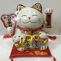Mèo sứ may mắn - Maneki-Neco 03