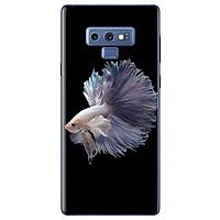 Ốp Lưng Dành Cho Samsung Galaxy Note 9 - Cá Betta Trắng