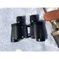 Ống nhòm mini 8x30 siêu nét, bền đẹp không thấm nước ( Tặng kèm đèn pin cơ mini bóp tay không dùng pin giao ngẫu nhiên )