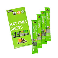 Hạt Chia Shots hữu cơ Smile Nuts gói nhỏ tiện dụng (8g x 10 gói) - Organic Chia Seed Shots (8g x 10 bag)