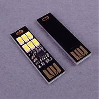 Combo Hai Thanh Đèn Cảm Ứng 6 Led Cắm USB ( Tặng Kèm 01 Bóng Đèn Led Siêu Tiết Kiệm Điện Cắm Cổng USB Ngẫu Nhiên )