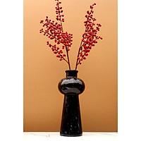 [Đá tự nhiên] Bình cắm hoa bằng đá tự nhiên BHD01 - Đá Đen Ý