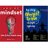 Combo 2 Cuốn Sách:  Kỹ Năng Thuyết Trình Chuyên Nghiệp + Tâm Lý Học Thành Công