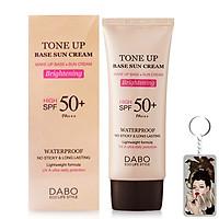 Kem chống nắng trang điểm Dabo Tone Up Base Sun Cream Hàn Quốc 70ml + Móc khoá