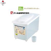 Thùng đựng gạo Pearl Metal 15kg nội địa Nhật Bản