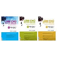 Combo Trọn Bộ 3 Cuốn: Làm Chủ Ngữ Pháp Tiếng Hàn (My Korean Grammar) - Trình Độ Sơ Cấp, Trung Cấp Và Cao Cấp (Tặng 45 Cấu Trúc Tiếng Hàn Căn Bản Và E-Book Giáo Trình Tiếng Hàn Tổng Hợp)