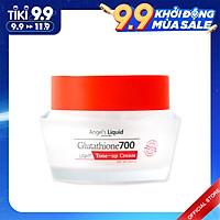 Kem Dưỡng Trắng Da Nâng Tone, Chống Nắng Angel Liquid Glutathione 700 Light Tone Up Cream (Ngày) 50ml