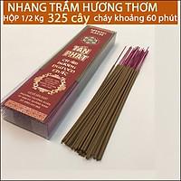 Nhang Trầm Hương Sạch Quảng Nam(Hộp 1kg=650 cây, 2kg=1300 cây Giá ƯU ĐÃI, cháy nồng nàng 60 phút)