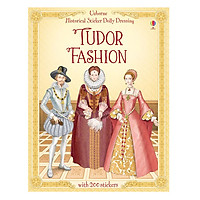Usborne Historical Sticker Dolly Dressing Tudor Fashion