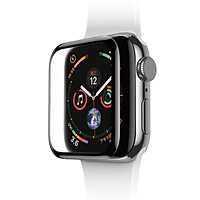 Miếng dán kính cường lực 3D full keo màn hình cho Apple Watch 44mm (siêu mỏng 0.3mm, độ cứng 9H, ôm sát viền bảo vệ máy) - Hàng nhập khẩu